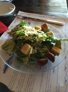 Simple, but tasty Caesar