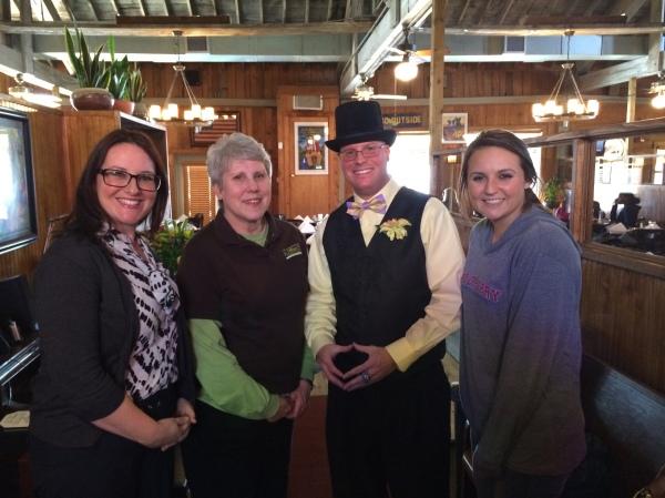 Sheila, Ruth, Michael, & Haleigh