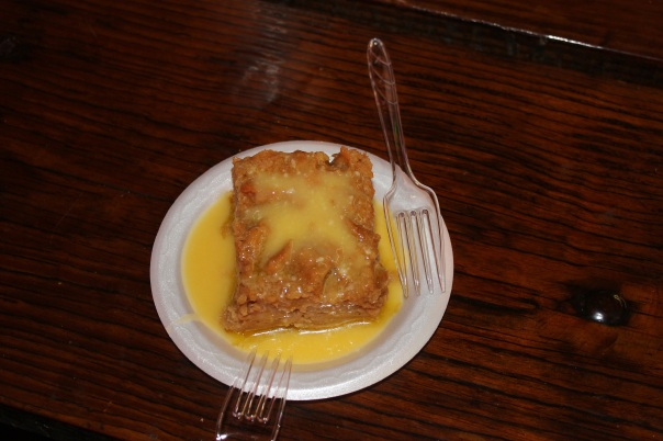 bread pudding, cormier's, monroe louisiana