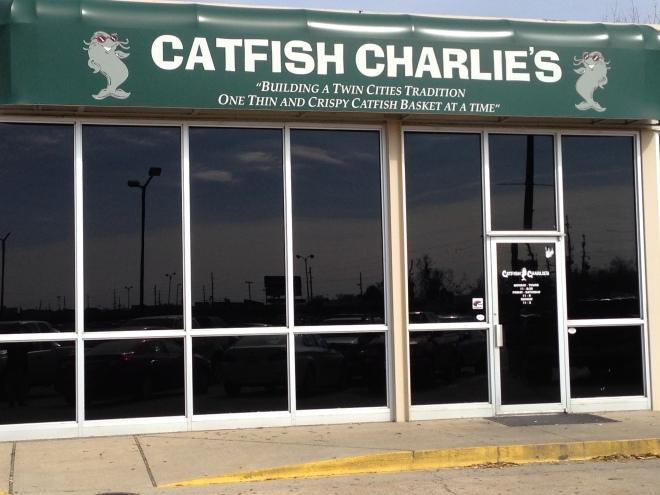 catfish charlie's, monroe Louisiana