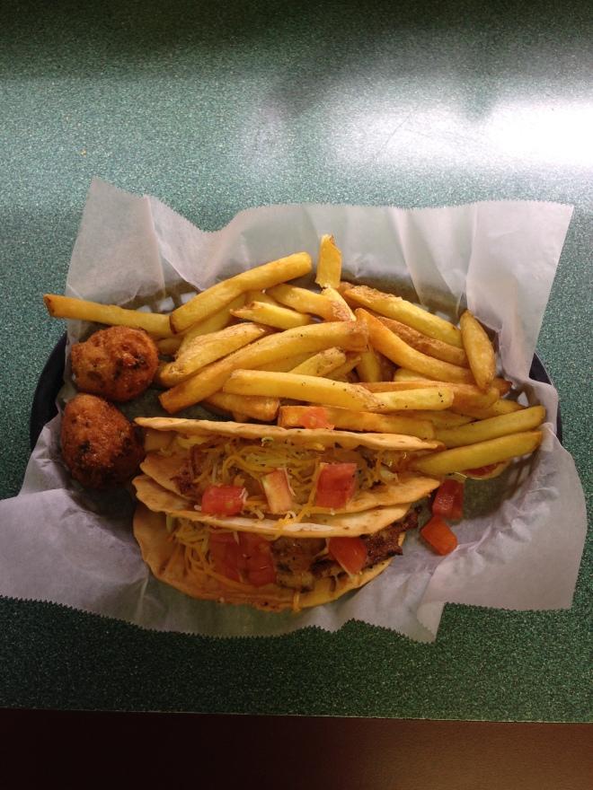 fish tacos, catfish charlie's, monroe louisiana