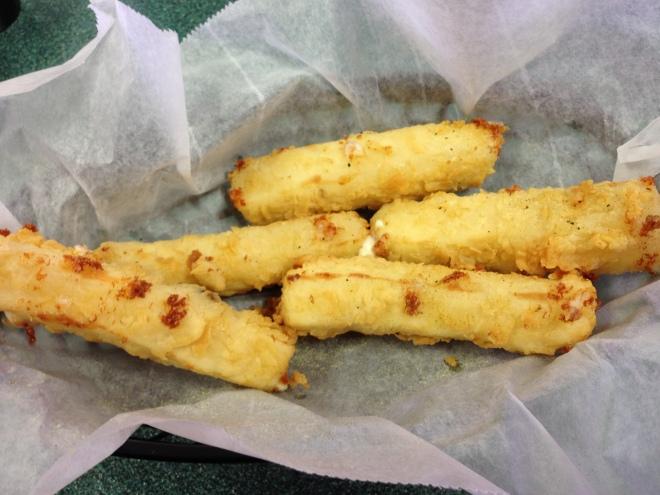 cheese sticks, catfish charlie's, monroe louisiana