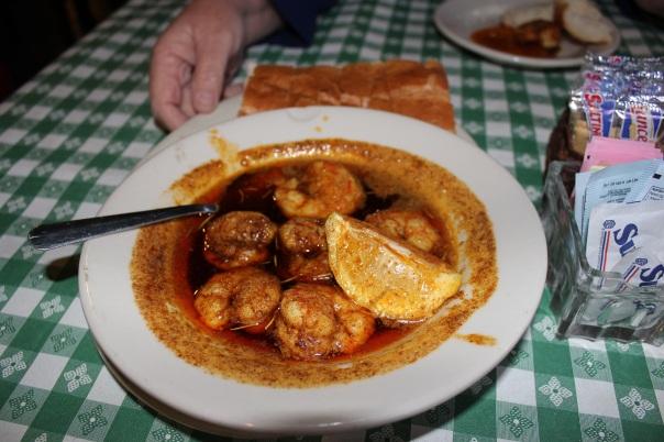 shrimp, Waterfront Grill, monroe louisiana