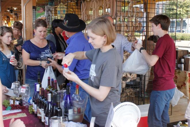 Landry Vineyards, Downtown RiverMarket