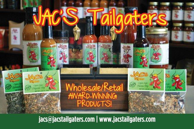 jac's tailgaters, monroe louisiana, louisiana food