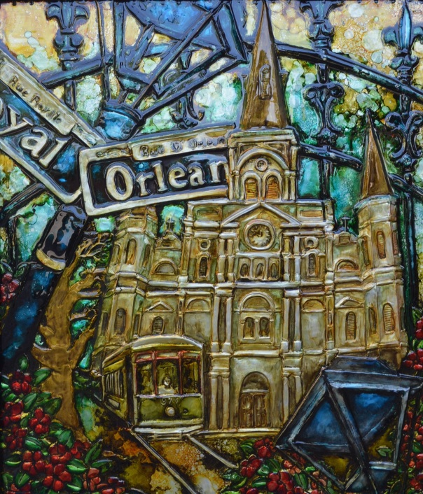 new orleans, stacy medaries, art, louisiana art, monroe louisiana