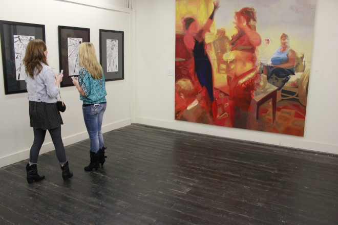 art gallery, gallery crawl, monroe louisiana, louisiana art