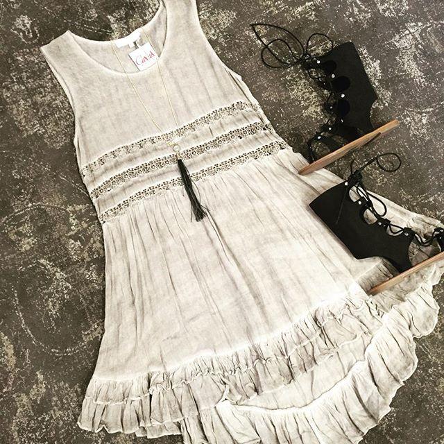 Iced Coffee Dress