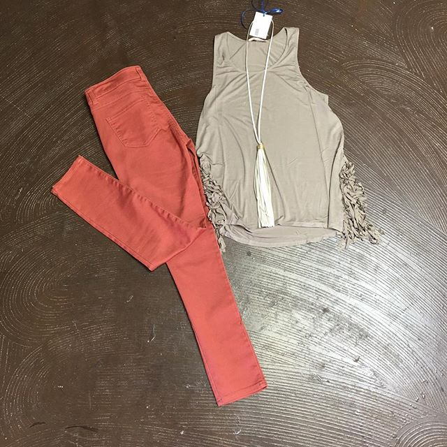 Peach Echo Pants