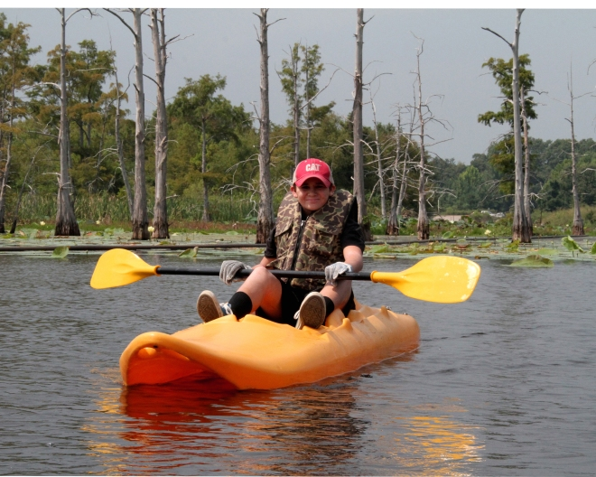Mike Roberts Jay Roberts Kayaking Black Bayou 2
